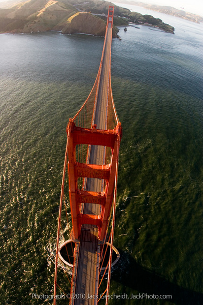 Golden Gate Bridge, SF, CA