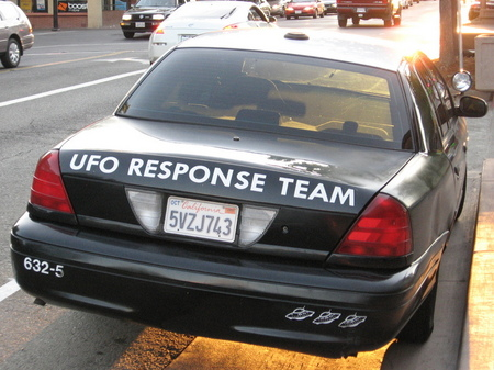 UFO Response Team patrol car