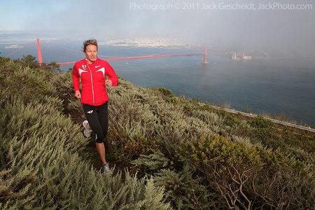 GG Bridge fog runner