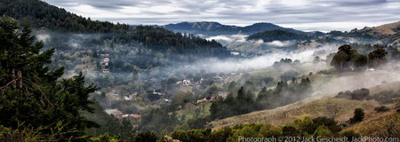 Woodacre, San Geronimo Valley PANORAMA